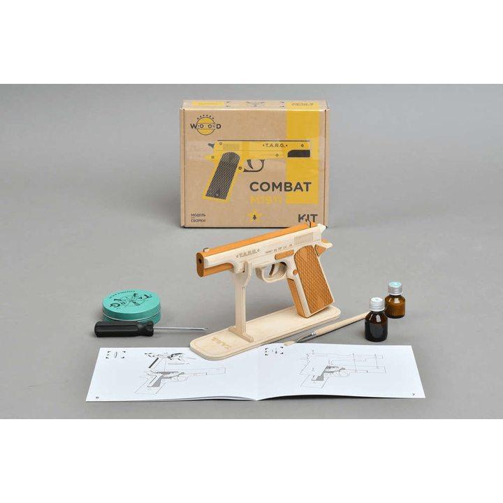 Пистолет Кольт (Colt M1911) из дерева (сборная модель)
