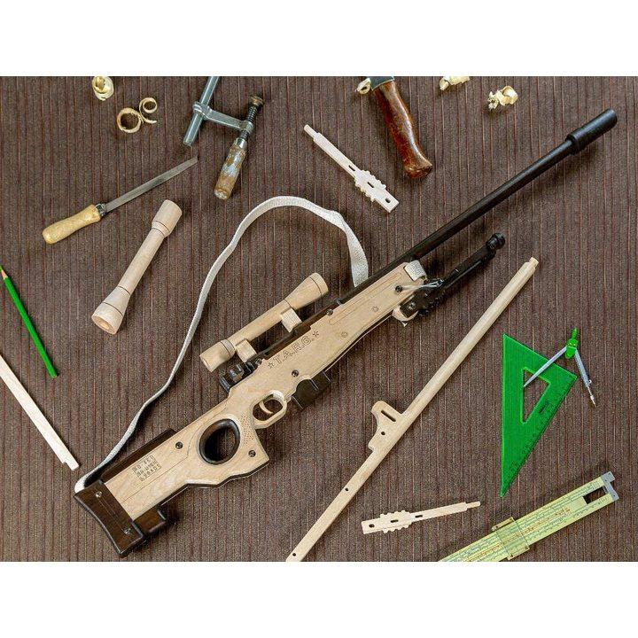 Снайперская винтовка AWP из дерева (сборная модель)