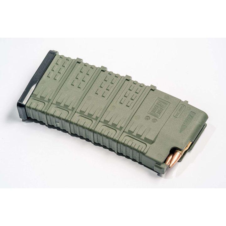 Магазин для Сайга 308 (Pufgun) на 25 патронов, олива, 7,62x51
