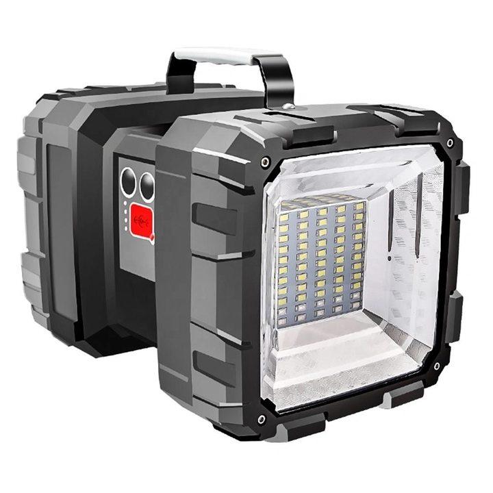 Сверхмощный ручной фонарь-прожектор Frazer Flashlight P70, светодиодный аккумуляторный