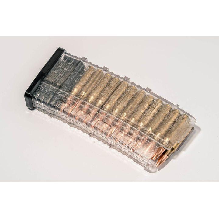Магазин для Сайга 308 (Pufgun) на 25 патронов, прозрачный, 7,62x51