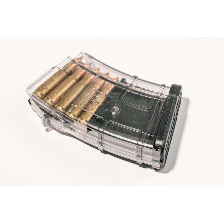 Магазин для ВПО-136 (Pufgun) на 10 патронов, прозрачный, 7,62х39