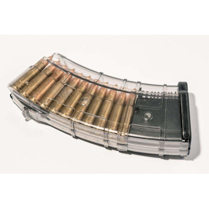 Магазин для ВПО-136 (Pufgun) на 20 патронов, прозрачный, 7,62х39