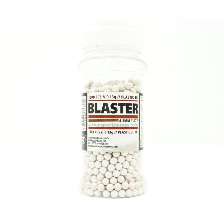 Шарики ВВ ASG пластиковые 4,5 мм 0,13 гр 1000 шт.