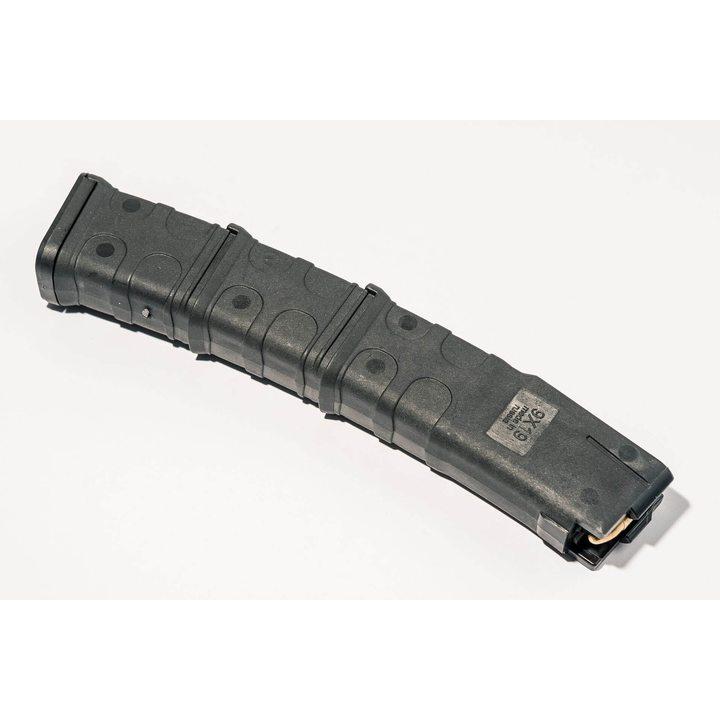Магазин для Сайга-9 (Pufgun) на 30 патронов, черный, 9х19