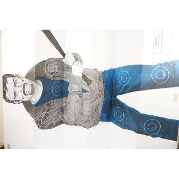 Мишень «Хулиган с битой» (1x1,5 м), шт