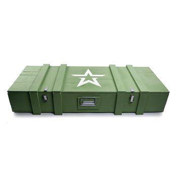 Ящик деревянный армейский со звездой (большой)