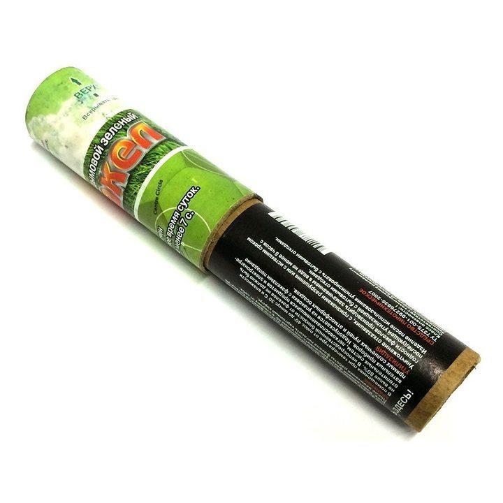 Факел дымовой цветной (зеленый)
