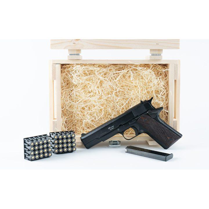Подарочный набор СХП пистолет COLT 1911 в деревянном ящике