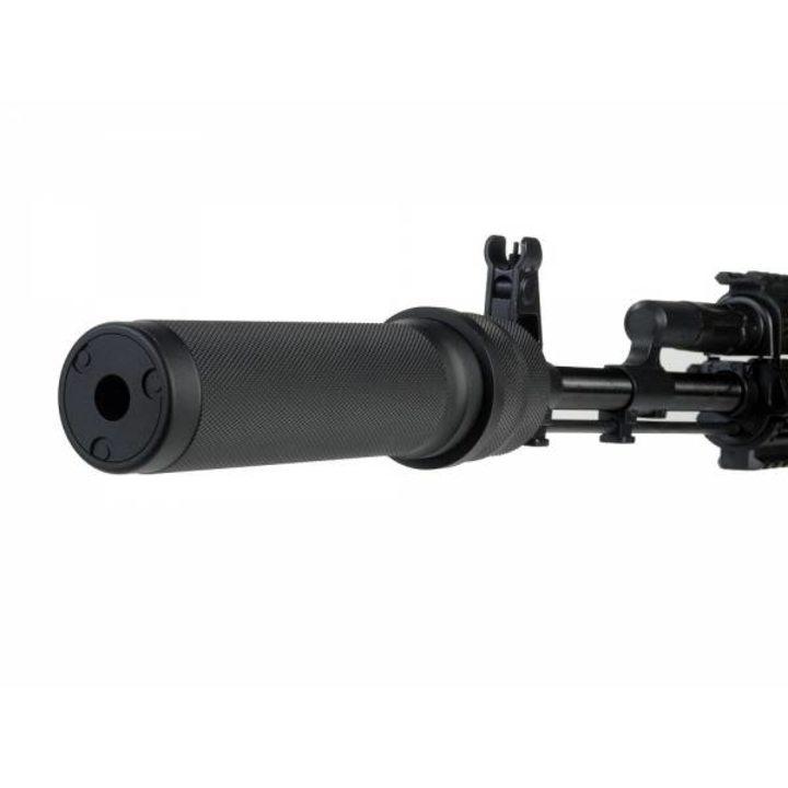 Макет глушителя ПБС-1 (АКМ/АКМС/РПК). Резьба: М14 на 1 левая