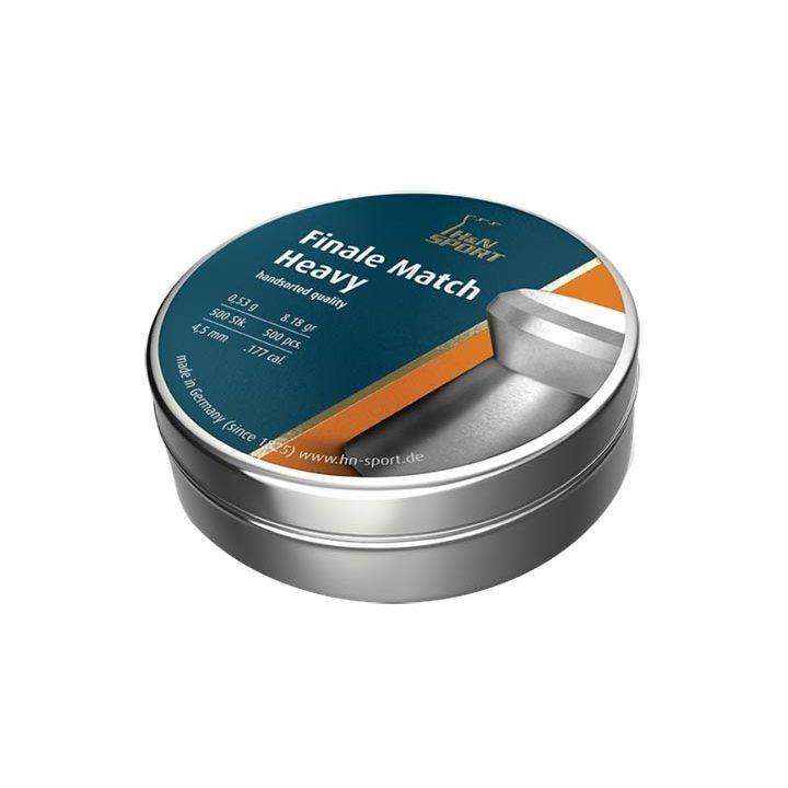 Пули пневматические H&N Finale match винтовочные 4,49 мм 0,53 грамма (500 шт.)