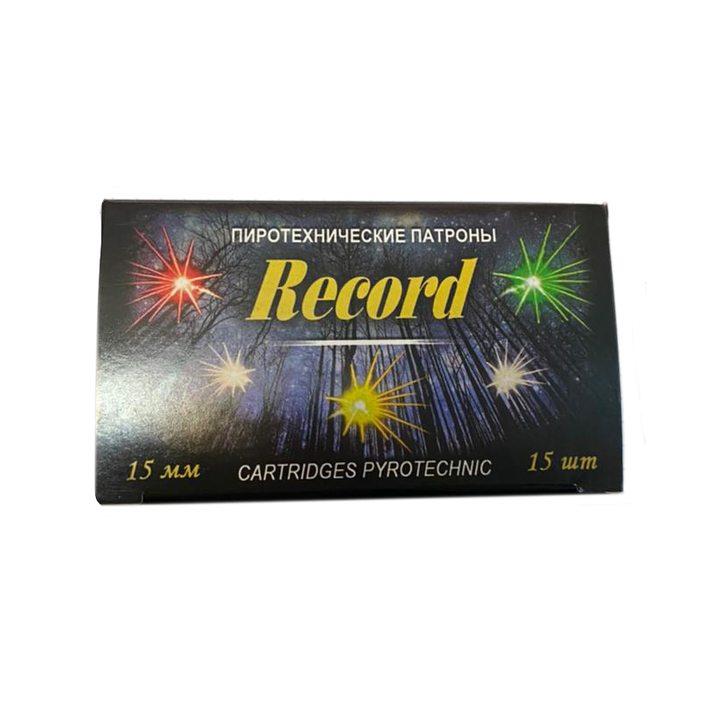 Пиротехнические патроны Record «Сигнал-1» 15 штук