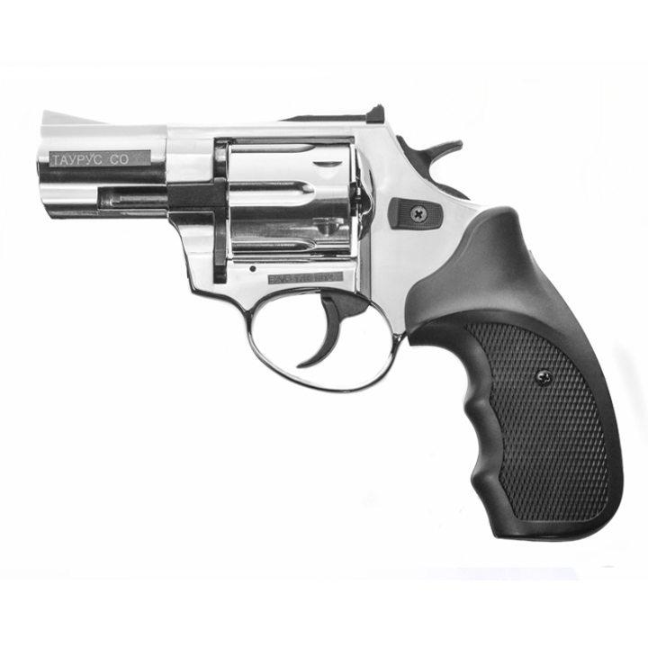 Охолощенный СХП револьвер Таурус СО, хром (КУРС-С) 10ТК