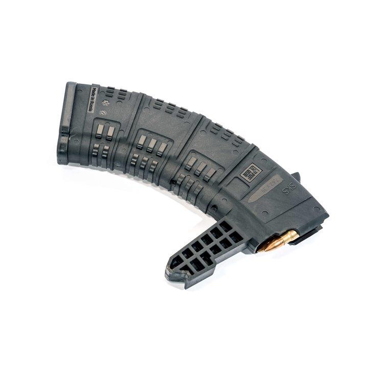 Магазин для СКС-45 (Pufgun) 30 патронов, черный, 7,62х39