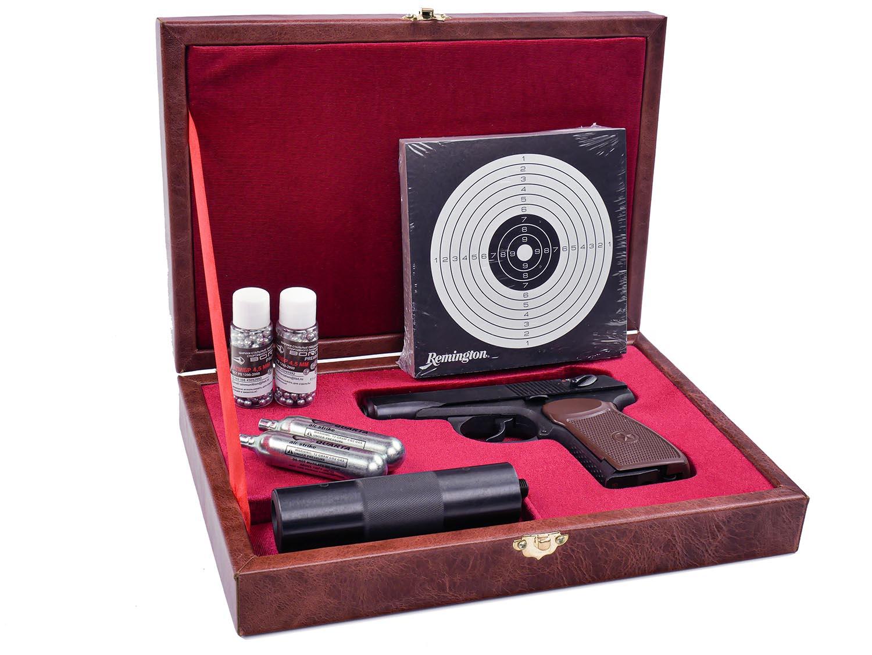 пневматический пистолет Макарова в подарок