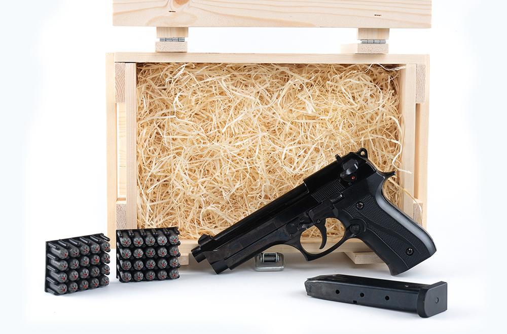 Охолощенный пистолет Беретта В92 в подарок