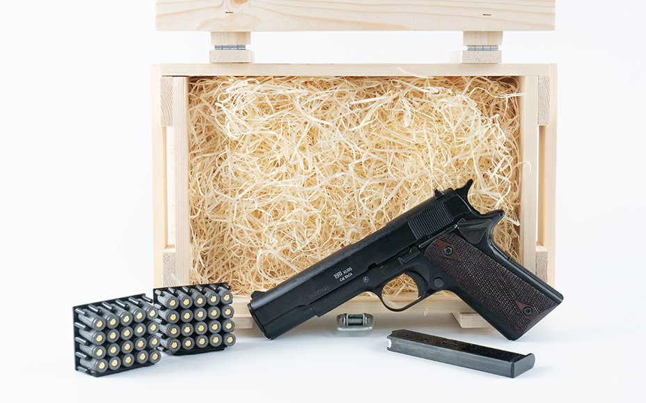 Охолощенный пистолет Colt 1911 в подарок
