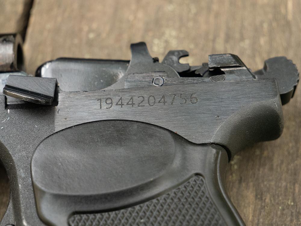 Оригинальный номер ПМ Р-411 на рамке